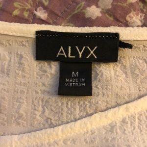 Alyx Tops - Beautiful white flowy top!!!